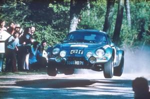 Rallye du Portugal 1973 - Victoire Thérier - Photo Renault