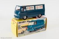 "Dinky Toys 570 - Peugeot J7 ""Allo fret"" - toit blanc"