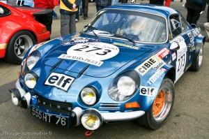 Alpine-Renault A110 1800 - Monte Carlo 1973 - Bernard Darniche