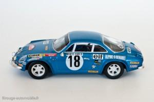 Alpine Renault A110 - 1800 - Vainqueur Rallye Monte Carlo 1973 - Ixo / Altaya