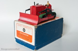 Dinky Toys 561 - Blaw-Knox bulldozer - modèle anglais en boite française