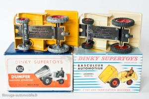 Dinky Toys 887 - Muir Hill basculeur automoteur - plancher différent du modèle anglais en boite française