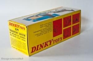 Dinky Toys 571 - Saviem transport de chevaux - boite