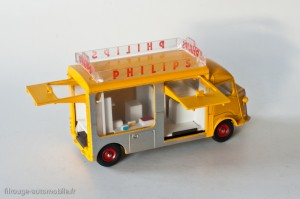 "Dinky Toys 587 - Citroën Currus 1200 kg ""Philips"""