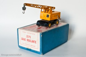 Dinky Toys 571 - Grue mobile Coles - modèle anglais, boite française