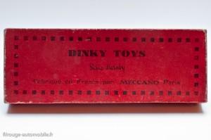 Dinky Toys 4 - Coffrets employés de chemin de fer