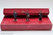 Dinky Toys 4 et 5 - Coffrets employés de chemin de fer