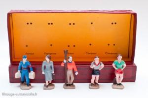 Dinky Toys série 11 - Coffret 5 personnages voyageurs