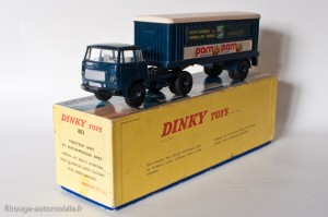 Dinky Toys 803 - Unic Esterel semi-remorque SNCF
