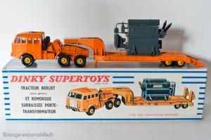 Dinky Toys 898 - Berliet T6 porte transformateur