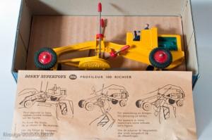 Dinky Toys 886 - Richier profileur - notice