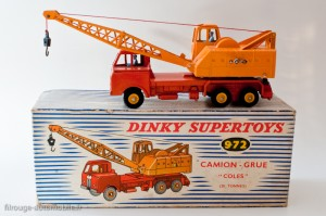 Dinky Toys 972 - Coles camion grue