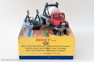 Dinky Toys 805 - Unic Izoard multibenne Primagaz