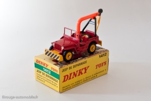 Dinky Toys 1412 - Jeep Willys dépannage