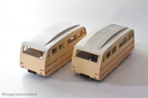 Dinky Toys 811 - caravane Hénon toit strié et lisse