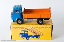 Dinky Toys 585 - Berliet GAK benne basculante 2ème type à 24 nervures