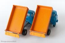 Dinky Toys 585 - Berliet GAK benne basculante 1er et 2ème type à 13 et 24 nervures