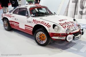 Alpine-Renault A110 1800 - Monte Carlo 1973 - Bob Wollek