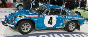 Alpine-Renault A110 1800 - Monte Carlo 1973 - Jean-Luc Thérier