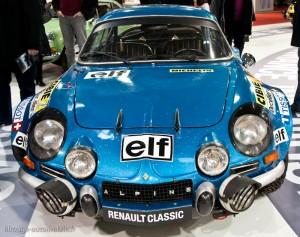 Alpine Renault A110 - 1800 - Rallye de Monte Carlo 1973