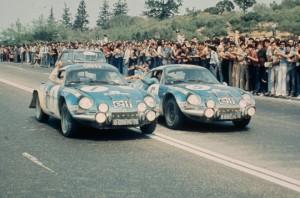 Rallye Acropole 1973 - Victoire Thérier - Photo Renault