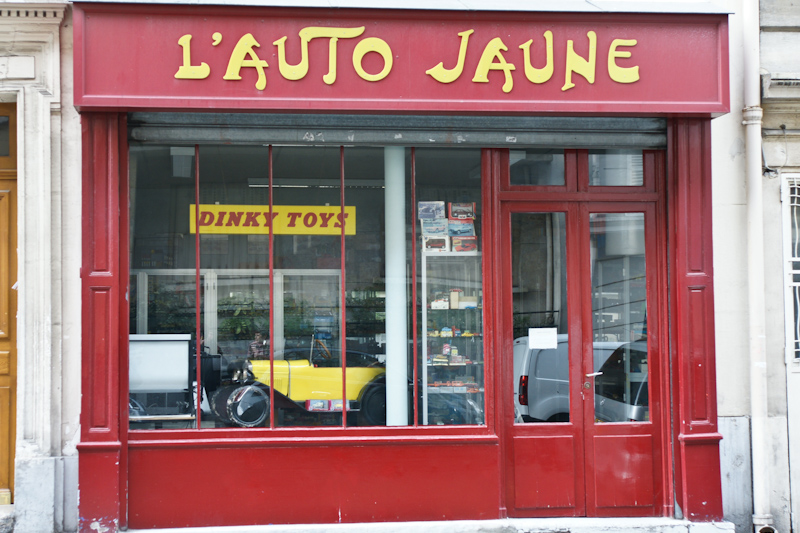 Boutique Voiture De Collection Miniature Paris