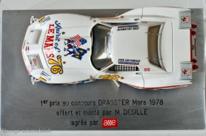 Chevrolet Corvette Stingray Greenwood - 24 heures du Mans 1976 - AMR