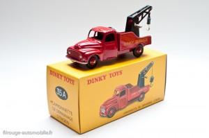 Camionnette de dépannage Citroën - Dinky Toys 35 A, copie Atlas sur sa boite
