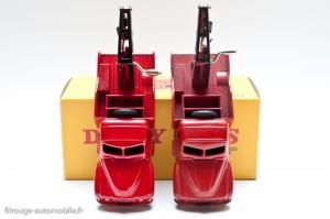 Camionnette de dépannage Citroën - Dinky Toys 35 A, copie Atlas à gauche, original à droite