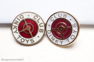 Epinglette club Dinky toys originale et pin's Dinky Atlas
