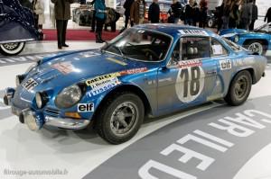 Alpine Berlinette 1ère Monte Carlo 1973 (copie) - Rétromobile 2013