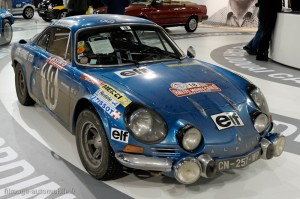 Alpine Berlinette 1ère Monte Carlo 1973 (copie) - Rétromobile 2013