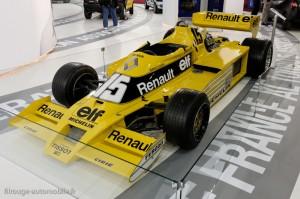 Renault F1 turbo - Rétromobile 2013
