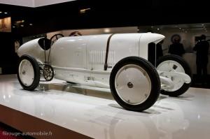 """Benz """"Blitzen Benz"""" 1909, record 200 km/h - Rétromobile 2013"""