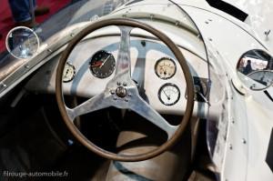Poste de pilotage Maserati 250F - Rétromobile 2013