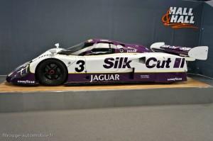 Jaguar XJR-12 LM n°3 victorieuse 24 heures du Mans 1990 - Rétromobile 2013