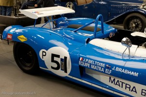 Matra 650 version courte 1971  Brands Hatch - Rétromobile 2013
