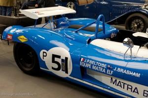 Matra 650 version courte 1971  Brands Hatch - Rétromobile 2013