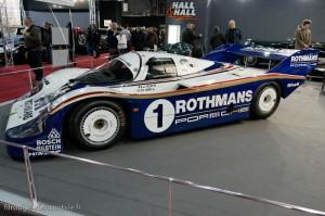 Porsche 956 de 1982, chassis 001 - Rétromobile 2013