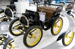 Renault voiturette de course 1898 (réplique) - Rétromobile 2013