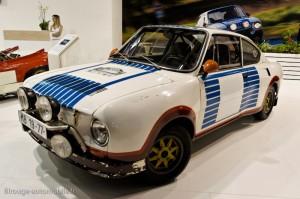 Skoda 130 RS rallye 1975 - Rétromobile 2013