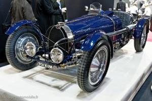 Bugatti type 59 (1 des 5 exemplaires construits) - Rétromobile 2013
