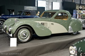 Bugatti Atalante - Rétromobile 2013
