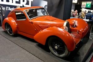 Germain Lambert 6 CV Coupé trois places 1948 - Rétromobile 2013