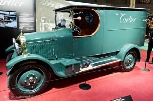 Camionnette Unic L1 de 1923 - Rétromobile 2013