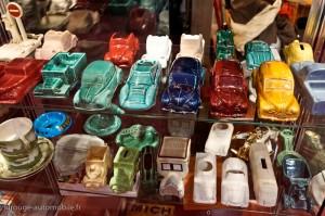 Automobilia : cendriers - Rétromobile 2013