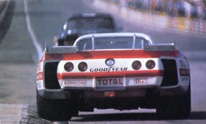 Chevrolet Corvette Stingray Greenwood Le Mans 1976 - photo l'automobile magazine