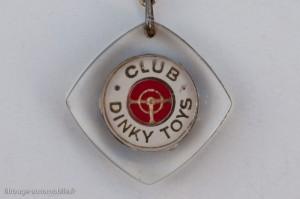 porte-clé du Club Dinky Toys