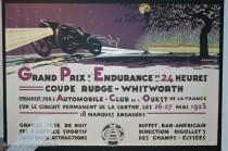 Musée des 24 Heures - Affiche 1923