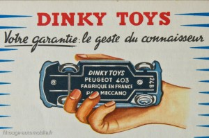 Dinky Toys : le geste du connaisseur